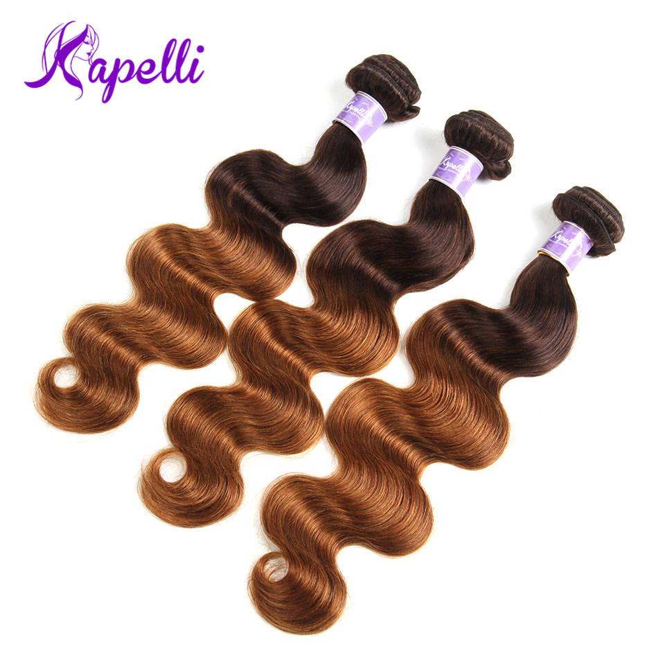 Ombre Hair Bundles Body Wave Bundles T4/30 Malaysian Hair Weave Bundles Blonde Human Bundles Hair Remy Human Hair Extension