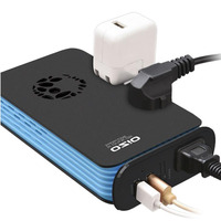 Very Beautiful Power Inverter DC 12V To 220V AC Car Inverter Outlets With USB Port Charger