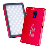 96 LED Studio Ultra Thin Camera Video OLED Display Aluminum Mini Dimmable Magnet Adsorption Practical Makeup Photography Light