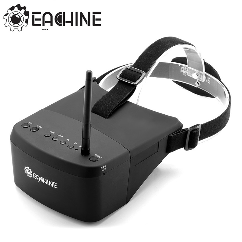 Eachine EV800 5 Inches 800x480 FPV Video Goggles 5.8G 40CH Raceband Auto Searching Build In Battery-in Parts & Accessories from Toys & Hobbies