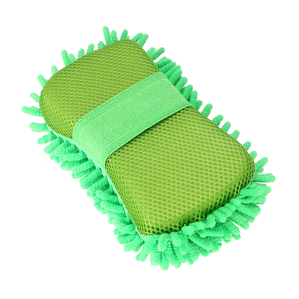 Washing Gloves Microfiber Chenille Car Washer Auto Care Cleaning Tool Accessories Car-styling Car Cleaning Green