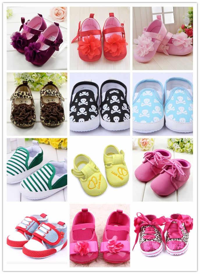 ต่ำราคาเด็กรองเท้าเด็กทารกเด็กวัยหัดเดินรองเท้า Prewalker First Walkers 2018 ใหม่มาถึง