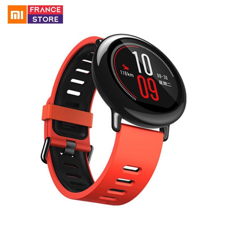 Global Versie Xiaomi Huami AMAZFIT Tempo Strap Smart Horloge GPS Running Sport Bluetooth 4.0 Hartslagmeter Waterdicht-in Smart watches van Consumentenelektronica op  Groep 1
