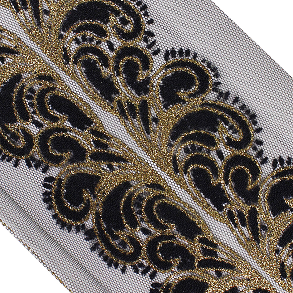 15 meters 0.4-0.9cm wide gold braid lingerie fabric embroidery clothes dress tapes lace trim ribbon S18E1019U210315T