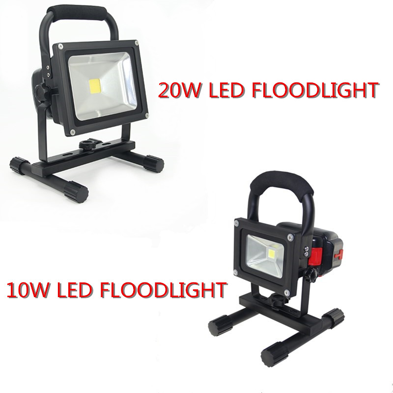 10W 20W led flood light Spotlight spot led exterieur Outdoor emergency lighting Rechargeable Camping lamp with 4400mah Powerbank niugul dmx stage light mini 10w led spot moving head light led patterns lamp dj disco lighting 10w led gobo lights chandelier