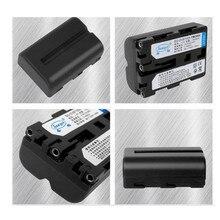 Baterias de lítio NP-FM500H NPFM500H Li-ion Battery pack Para Sony A57 A65 A77 A99 A350 A550 A580 A900 Digital camera Battery