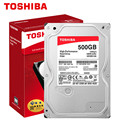"TOSHIBA 500G Internal HDD Hard Drive Disk 500GB HD 7200RPM 64M 3.5"" SATA 3 for Desktop PC Computer"