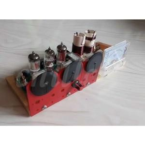 Image 3 - Electronic tube three lamp QRP station electronic tube radio transceiver 7.023 7.050 transceiver kits dual purpose