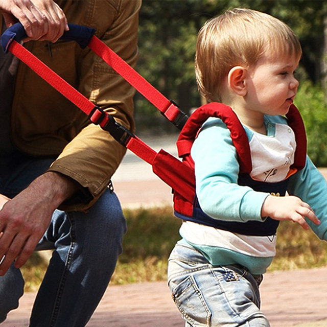 New Safe Baby Walker Assistant Toddler Leash Backpack For Kids Walking Baby Belt Child Safety Harness Leash Infant Baby Walker