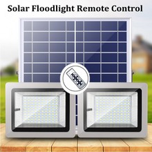 36LEDs 60LEDs 80LEDs 100LEDs Solar Power Panel LED Flood Light Outdoor Garden Yard Landscape LED Floodlight Security Emergency