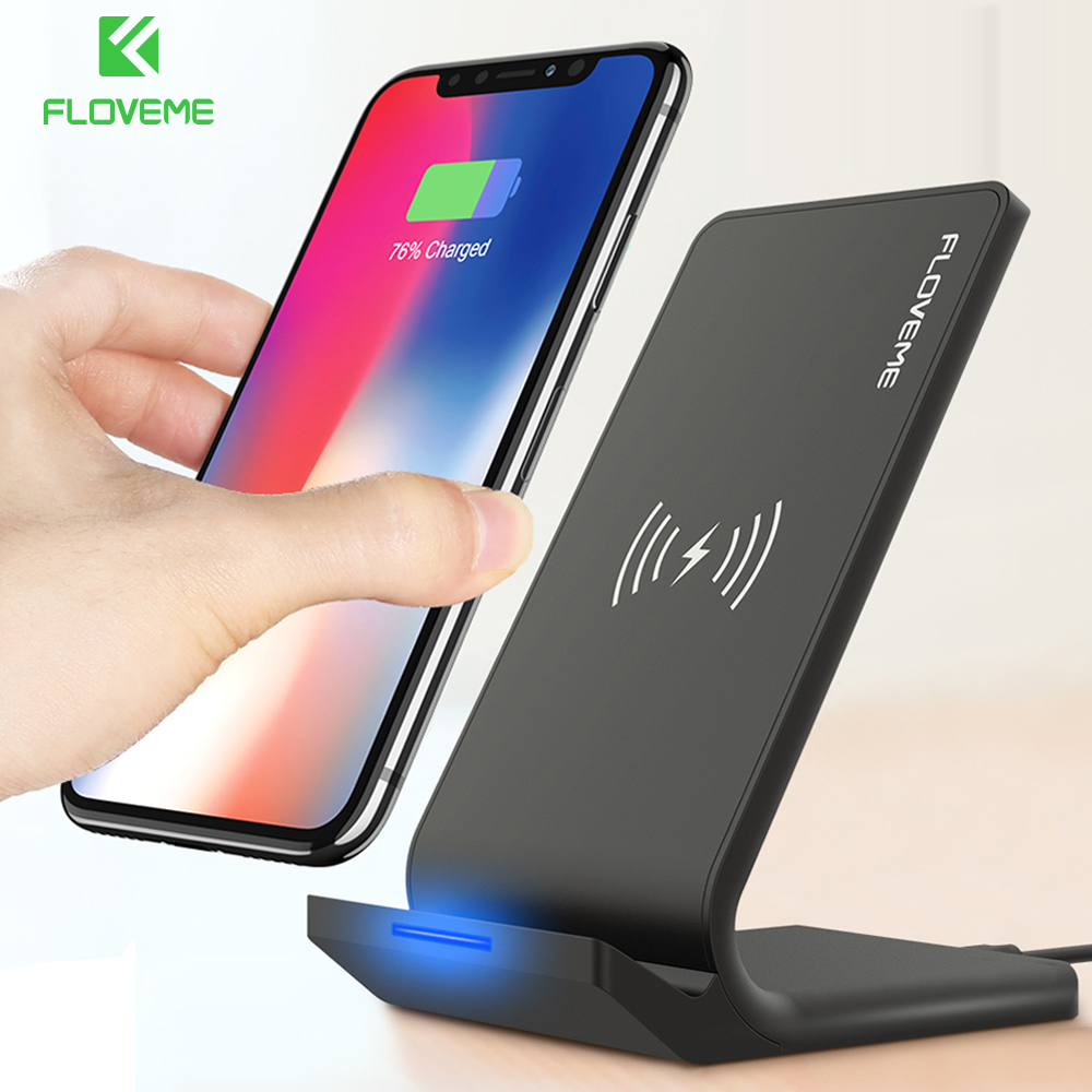 FLOVEME 10 W Fast Wireless Charger For iPhone 8X8 Plus
