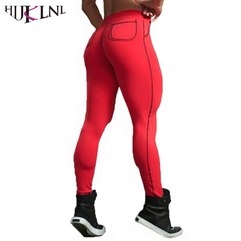 HIJKLNL Exercise Clothing for Women Sportwear Fitness Leggings 2017 New Solid Push Up Skinny Leggins Pants