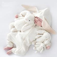 Warm Rabbit Romper for newborn