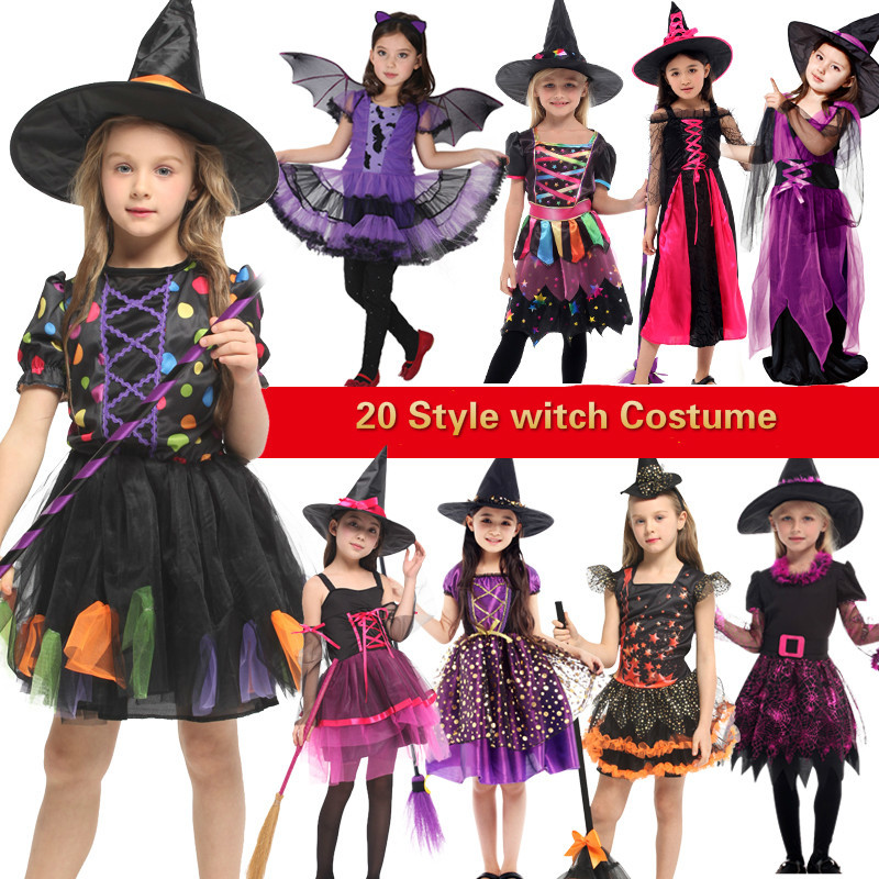 halloween costume for kids witch costumes girls anime ...