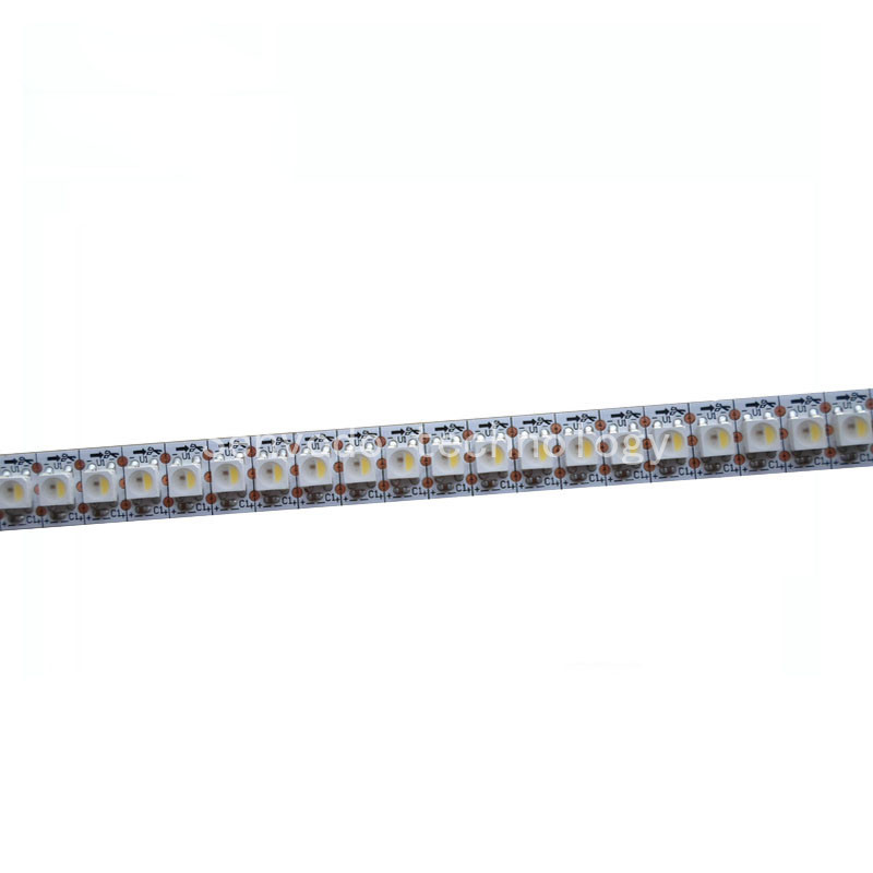 1mX Addressable SK6812 5050 RGBW each led individual control led strip 144led dream color led strip white/blackPCB free shipping iodoform packing strip 2 x 5 yds replaces zg200i 1 each each