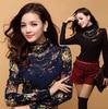 New Fashion Women S High Quality Pretty Casual Knee Length Chiffon Print Dress Plus Size L