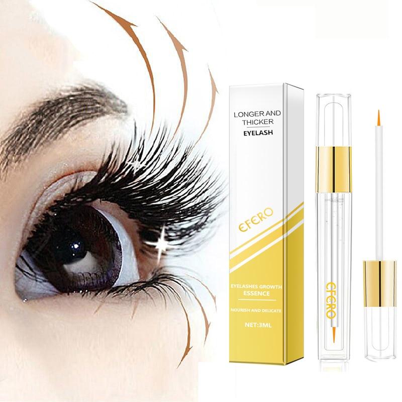 Poderoso Crescimento Cílios Essência Natural Cílios Potenciador Mais Mais Grosso Ondulação de Cílios Soro Crescer Soro Chicote Do Olho Cuidados