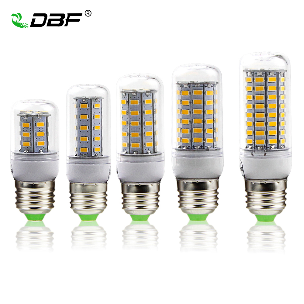 [DBF] LED Corn Bulb Light E27 24/36/48/56/69/81/89LED No Flicker 360 degrees for Pendant Light Source AC110V 220V 5730 SMD lamp[DBF] LED Corn Bulb Light E27 24/36/48/56/69/81/89LED No Flicker 360 degrees for Pendant Light Source AC110V 220V 5730 SMD lamp