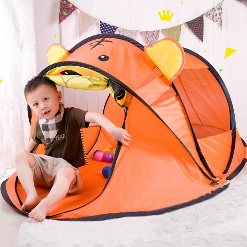 180 cm grand jeu de bebe tente pliable enfants plage jouer maison interieur jouets de plein air tentes pop up enfants tente maison avec fenetre zp39