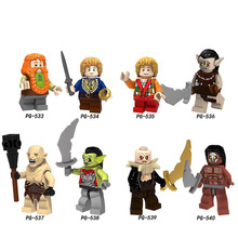 Legoings Building Blocks Lord of the Rings, Lord of the Rings, Hobbit Elf Prince, assembled with a foreign trade toy все цены