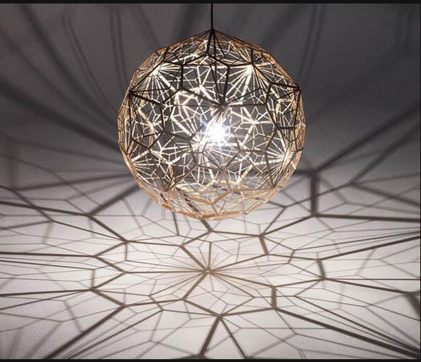 New Diamond Pendant Light Lamp Home Bar Decor Gold Silver LED Christmas Lighting Fixture led pendant lamp kitchen light