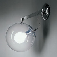 Glass Ball Led wall lamp LED wall lamp for Bedroom/Dining room/Doorway Free Shipping WLL 21