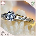 Good Quality Popular  s925 Sterling Silver Lady Wedding Ring