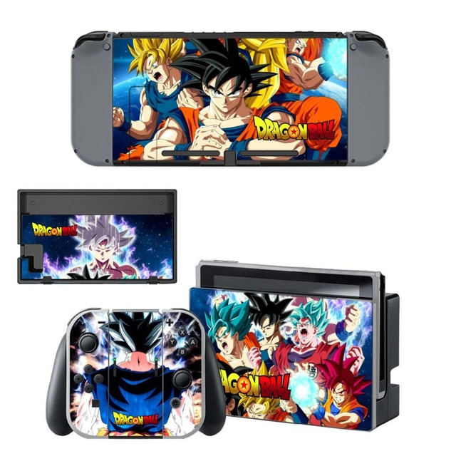 Nintend Switch Dragon Ball Skin vinilo NintendoSwitch stickers Compatible with Nintend Switch Console and Joy-Con Controllers
