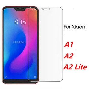 Перейти на Алиэкспресс и купить Защитное стекло для экрана Xiaomi A2 Lite для Xiaomi Mi A2 закаленное стекло Xiomi My A 1 2 2lite световая пленка Mi5X