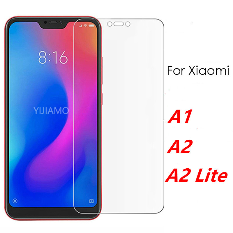 Protective Glass On The For Xiaomi A2 Lite Screen Protector For Xiaomi Mi A2 Tempered Glass Xiomi My A 1 2 2lite Light Film Mi5X