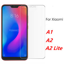 Protective Glass On The For Xiaomi A2 Lite Screen Protector For Xiaomi Mi A2 Tempered Glass Xiomi My A 1 2 2lite Light Film Mi5X все цены