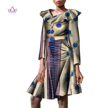 2018 Autumn women african clothing wrist Sleeve african women clothing casual traditional african dress none plus size WY3450