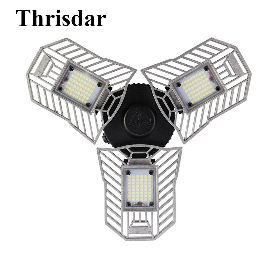 Thrisdar E27 60 Watt Verformbaren Garage Licht Hohe Intensitat