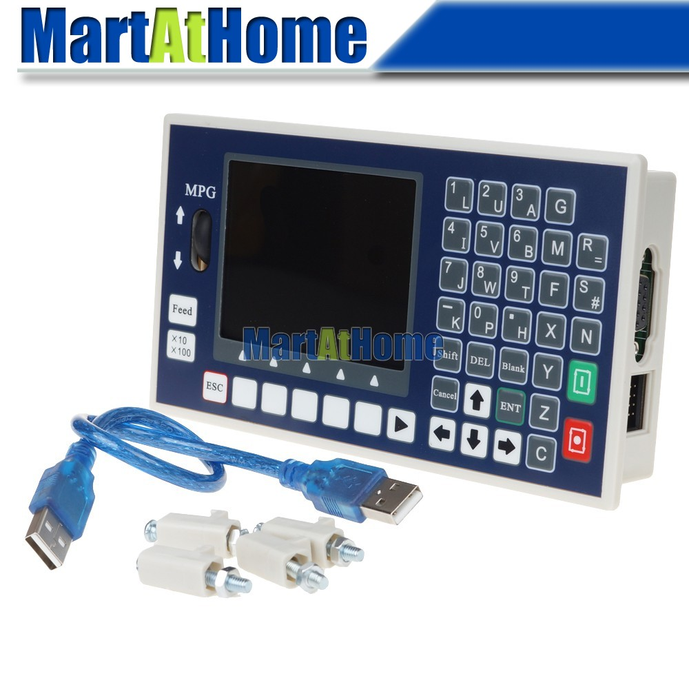 ARGEDO 3 Achsen CNC Controller 400 KHz USB Stick G code Spindel Control MPG Werkzeug Einstellung TC5530H Unterstützung Servo & stepper # SM786 @ SD