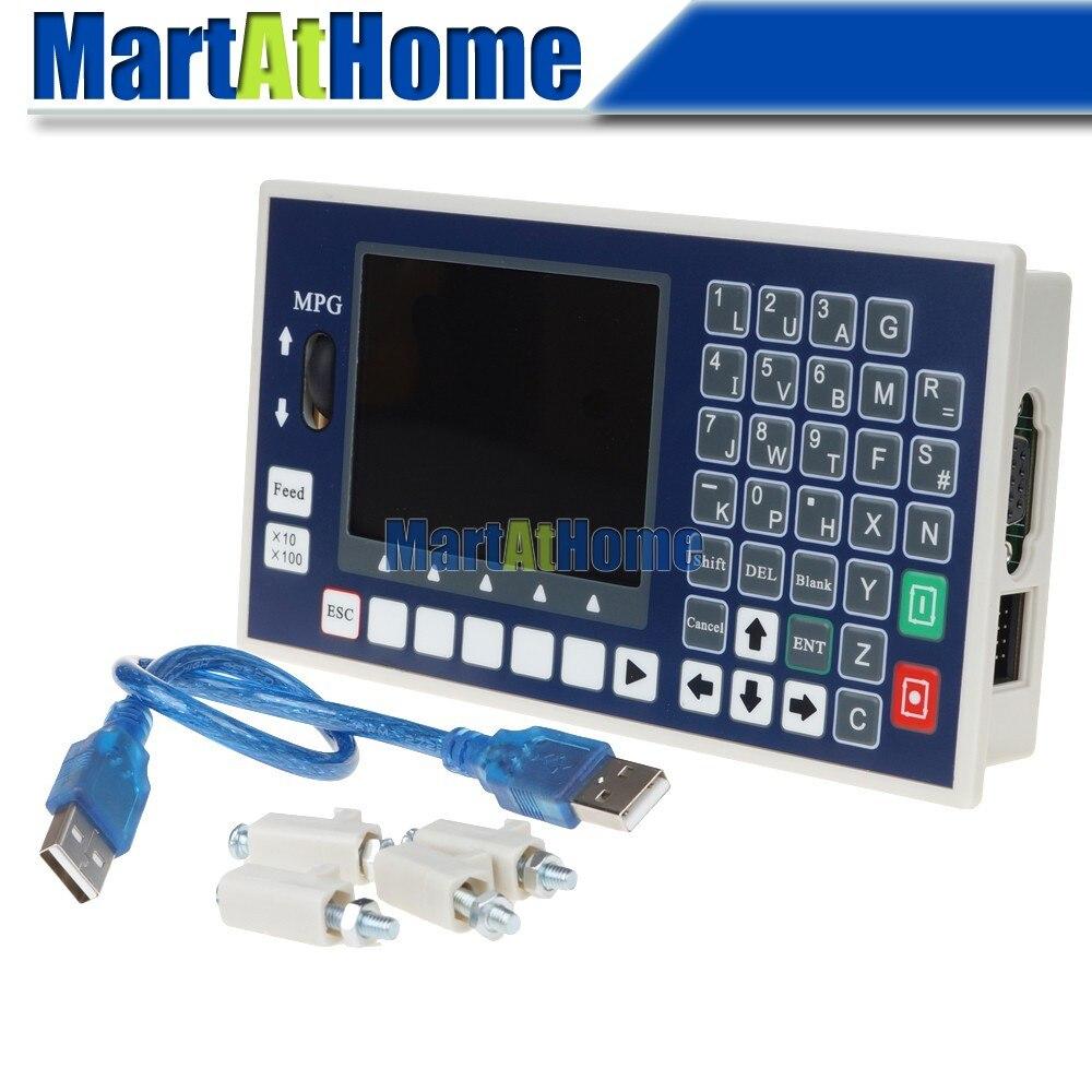 ARGEDO 3 osi CNC kontroler 400 KHz pamięć USB kod G sterowania wrzeciona MPG do ustawiania narzędzi TC5530H wsparcie serwo i krokowy # SM786 @ SD