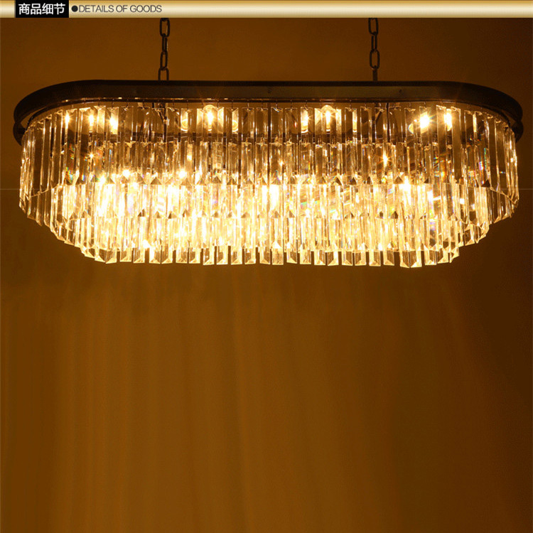 Luces de y montura colgantes cristal clásicas Metal zMSGqUVp