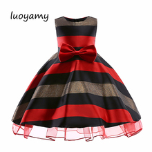 цена на luoyamy Baby Girl Princess Dress 2018 Kids Lace Summer Autumn Wedding Birthday Party Dresses for Toddler Children Clothing