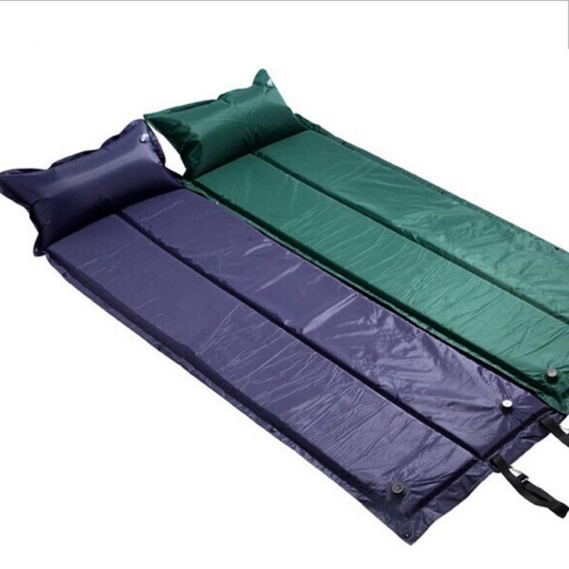 Camping mat folding tent air bed picnic beach automatic - Matelas gonflable airbed ...