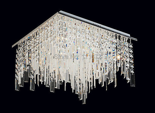 US $339.68 12% OFF|Free shipping new lustre design modern ceiling lamp  crystal ceiling lights luxury foyer lights-in Ceiling Lights from Lights &  ...