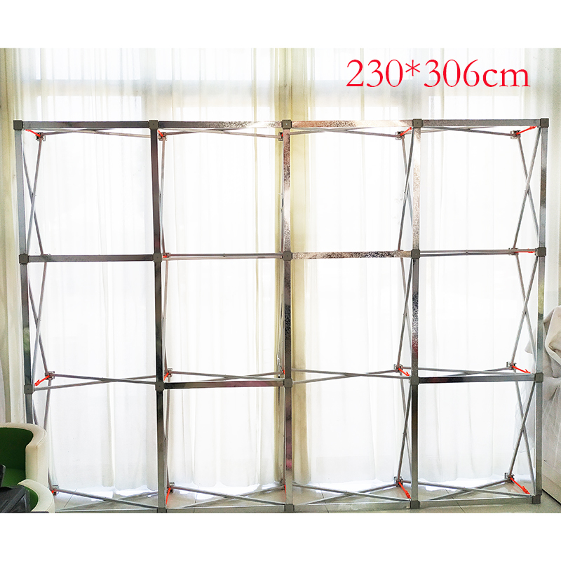 2 3M x 2 3M Flower Wall Stand metal Flower Backdrop Frame Good Quality Folding stand KT board meeting background frame in Party Backdrops from Home Garden
