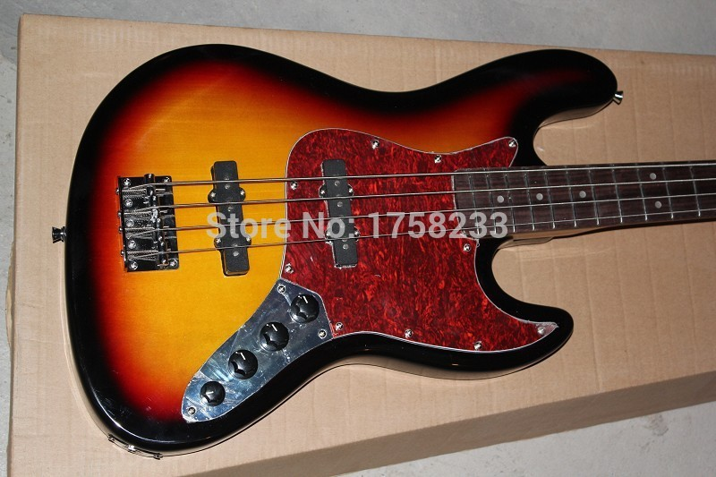 . free shipping factory German guitar show F jazz bass guitar, F 4 strings jazz bass guitar,Active pickups 9V battery guitar