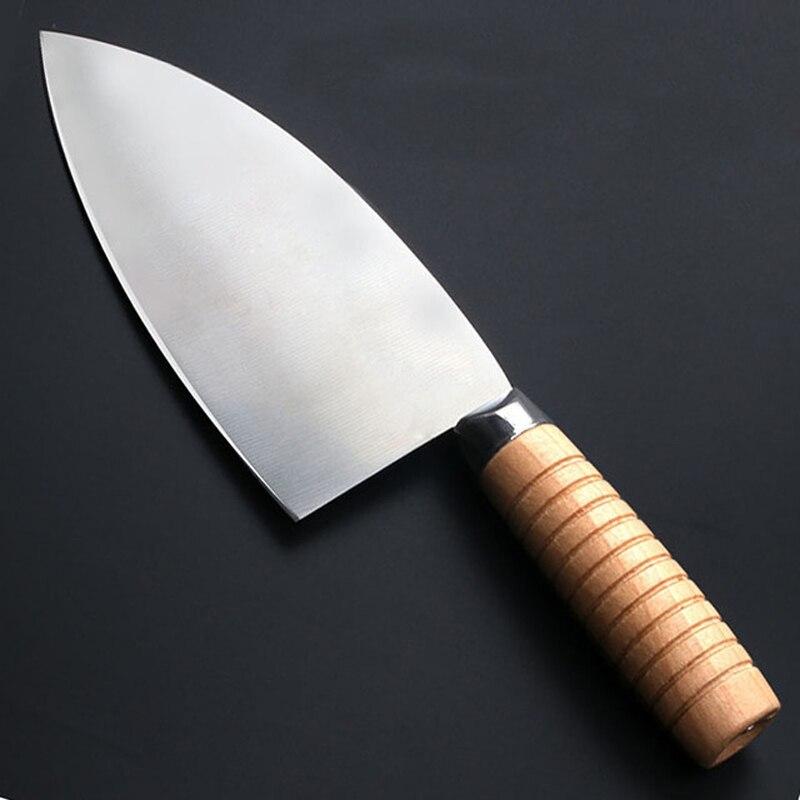 Linag Da кухонный кованый нож для резки, пилинг, нож для рыбы, Кливер, нож для нарезки овощей, нож для вырезания костей, нож для мясника