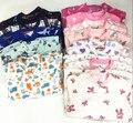De marca de alta qualidade meninos e meninas pijama de lã com pé de escalada roupas collant Romper quente treino