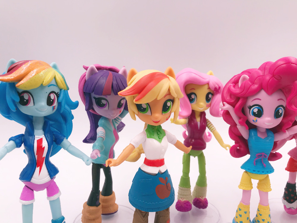 My Little Cute Pony Girl Figurines 13cm 9