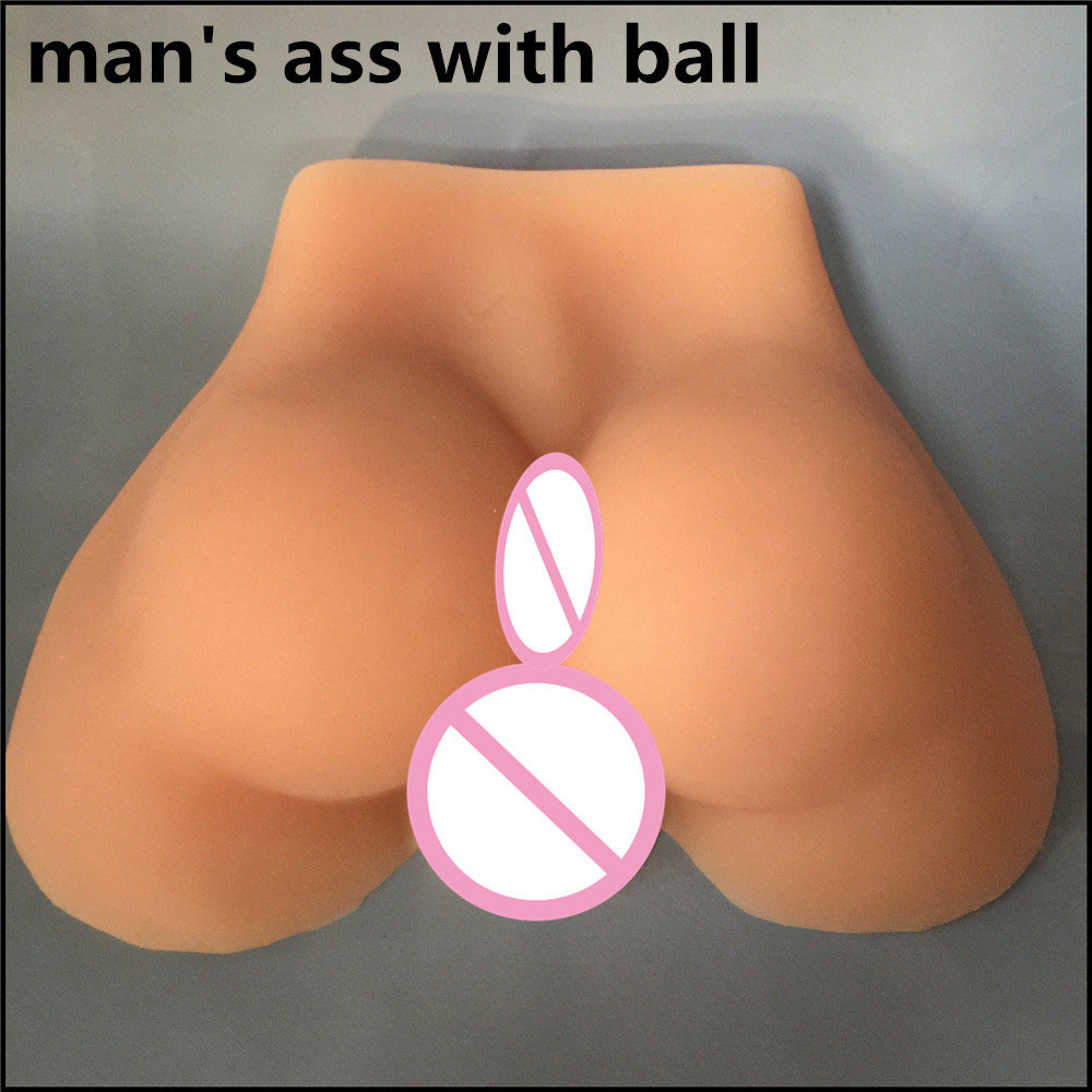 2.5kg man's ass 1:1 male masturbator big ass gay sex dolls silicone ass gay sex dolls life size gay sex toy image
