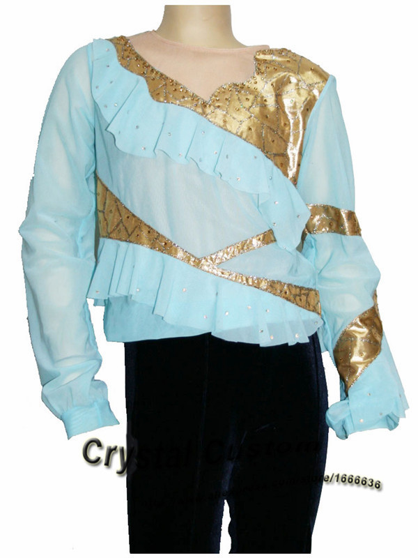 Custom Figure Skating Clothes For Men /Boys Fashion New Brand Vogue Figure Skating Competition Costume MR3134
