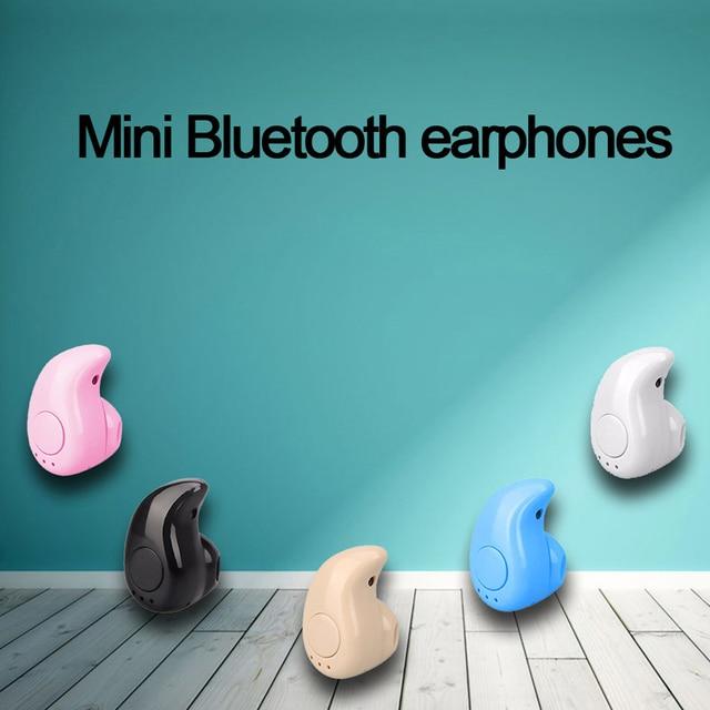 Mini Wireless Bluetooth Earphone in Ear Sport with Mic Earphones Handsfree Headset Earphone Earphone for iPhone 7