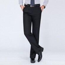 Terno Calca Masculina Sociais hombre Pantalones De Vestir Vestido de Homem Pantalon Formais homens Outono Lã Solto Longo Calças Calças