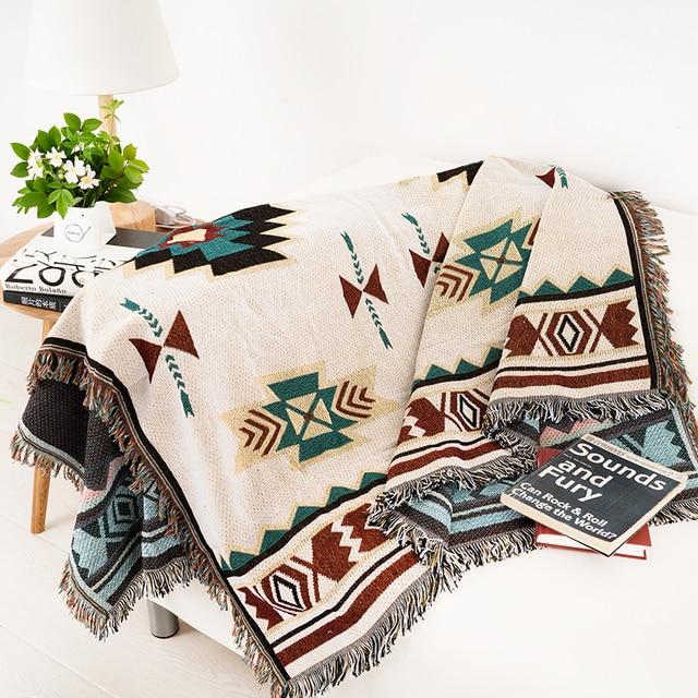 japon style 100 polyester canape jeter couverture pour enfants adulte solide couleur lit couverture