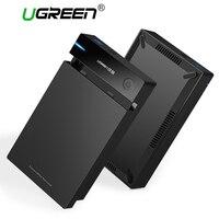 Ugreen 3.5 inch HDD Trường Hợp SSD Adapter SATA để USB 3.0 cho Samsung Hard Disk Drive Box 1 TB 2 TB 2.5 Lưu Trữ Bên Ngoài HDD Enclosure